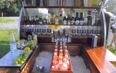 Look Out for the Woody | GBlog #wood #caravan #woody #bar