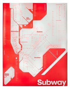 Triboros One Color Subway Map #york #mta #subway #new