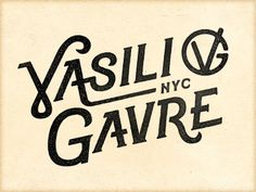 Vg_nyc #typography