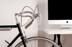 in the kitchen #bicycle #in #bratislava #office #black #the #road #on #kitchen #slovakia #favorit