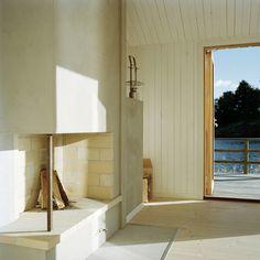 general architecture opens sauna to archipelago of stockholm #sauna