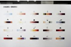 Shades of Change - MARIN DEARIE > hello #installation #icons #color #inforgraphics