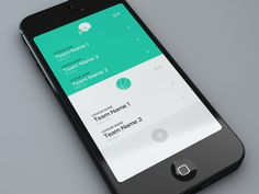 Fantasy Leagues App on Behance