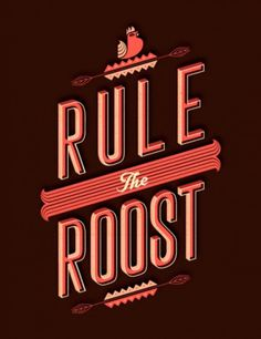 Great Graphic Design Inspiration | From up North #type #red #typography