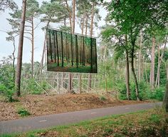 Daniel Gebhart de Koekkoek | Art Sponge #advertising #photography #forest #trees #billboard