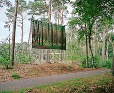 Daniel Gebhart de Koekkoek | Art Sponge #advertising #photography #forest #trees #billboard