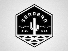 Dribbble - SONORAN by Matt Stevens #sonoran #usa #mexico #cactus
