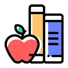 See more icon inspiration related to book, learn, food and restaurant, intelligent, growth, study, studies, learning, knowledge, education and apple on Flaticon.