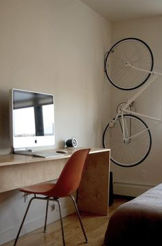 Brilliant Bike Storage — Renters Solutions from Our Archives