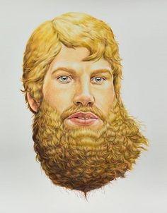 hipness envy / supreme! #beard #supreme