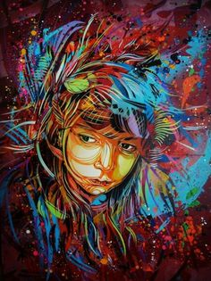 C215 - #stencil #urban #c215 #art