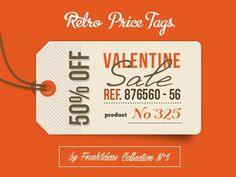 Dribbble orange #type #design #tag #promo