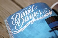 DANIEL DANGER: HI-FRUCTOSE MAGAZINE - Brett Peter Stenson #fructose #design #brett #logo #stenson #daniel #hi #danger #typography