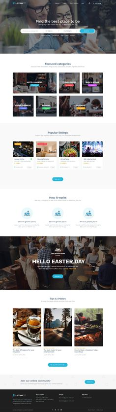 ListingEasy Directory WordPress Theme
