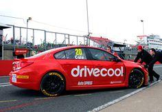 Drive Cool   BTCC Race car livery