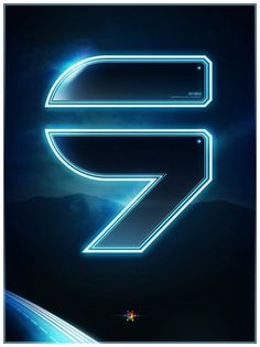 Tron Legacy countdown on the Behance Network #posters #movies #numbers