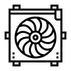 See more icon inspiration related to motor, part, car, construction and tools, radiator, transportation, electronics, engine and parts on Flaticon.