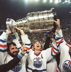 MERLIN!CUP84 #wayne gretzky #oilers #hockey #nhl #stanley cup