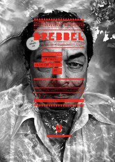 'DREBBEL' on the Behance Network #design #typography #poster