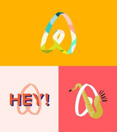 DesignStudio | Airbnb Digital #mark #logo #illustration #graphic