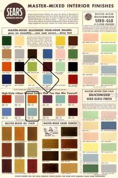 WANKEN - The Blog of Shelby White » The Colors of Mid-Century Modern