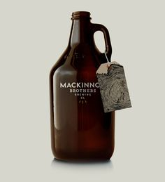 MacKinnon Brothers Brewing Co. #branding #beer #package design #packaging #canada #brewery #craft beer #growler