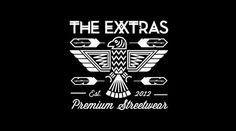 The Exxtras | Apparel on the Behance Network #logo #tim #streetwear