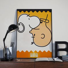 The Peanuts movie inspired poster. #illustration #graphic design #poster #visual design