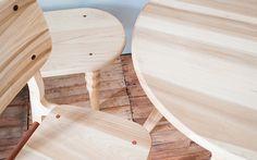 El Moro branding #wood #furniture #chair #table