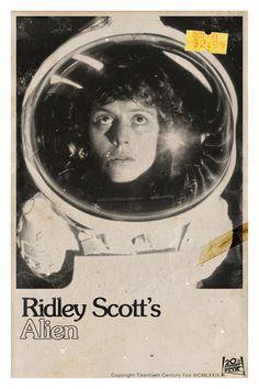 Alien 11X17 #alien #sigourney #ridley #weaver #scott