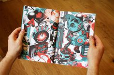 One thing i know book spread 1 #isometric #color