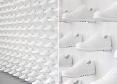 camper store nendo #nike #retail #shoes