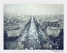 Glossom | Items | IMG_0012092 #paris #polaroid #snow #winter