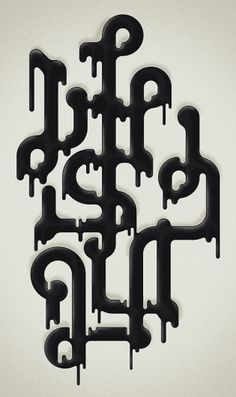Typographic work #1 on the Behance Network