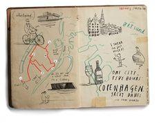 Oliver Jeffers - Illustration #map #illustration #lettering