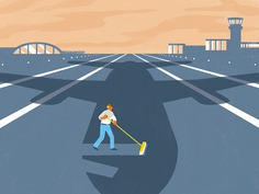 Kiplinger's Personal Finance | Reducing the environmental impact of travel #illustration