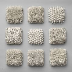 This pin shows how different textures can be created using the same material, and each one of them would feel differently when you touch the surface.