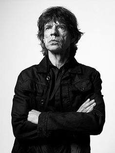 Exposed Bryan Adams: Mick Jagger #jagger #portraiture #blackandwhite #mick