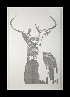Walton Creel #deer #guns #art