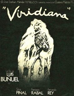 tumblr_lpnsf7ilKK1qb7qppo1_500.jpg (500×649) #luis #viridiana #bunuel #posters #film