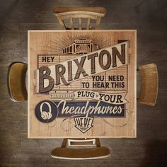 Brixton_Table #inspiration #creative #lettering #design #artists #art #hand #typography