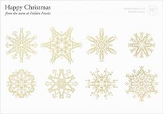 happy christmas from the team at Feilden Fowles : Keir Alexander #card #feilden #graphic #christmas #snowflake #gold #keir #xmas #fowles #greetings
