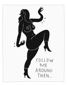 Parra Follow Me to Monte Carlo Print | Arkitip, Inc. #drawing #poster #parra