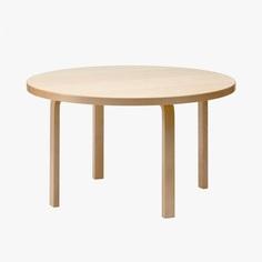 Aalto Table Round by Alvar Aalto for Artek. #diningtable