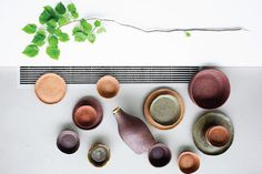 Giria, la vaisselle composée de bois recyclé par Evelina Kudabaité - Blog Esprit Design
