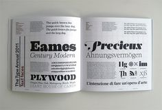 Creative Review - CR Type Annual: the winners