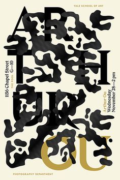Arthur Ou Jessica Svendsen #graphic design #typography #poster