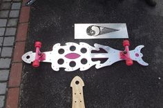QJD Wildetect Style Skateboard