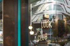 full of luck bar restaurant chinese beautiful color colorful modern graphic design corporate design interior branding brand beauty best top