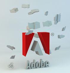 ADOBE GEOMETRY on the Behance Network #creative #geometry #design #software #tribute #adobe